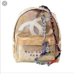 Handbags - Designer inspired graffiti backpack